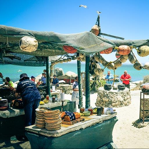 Die Strandloper menu